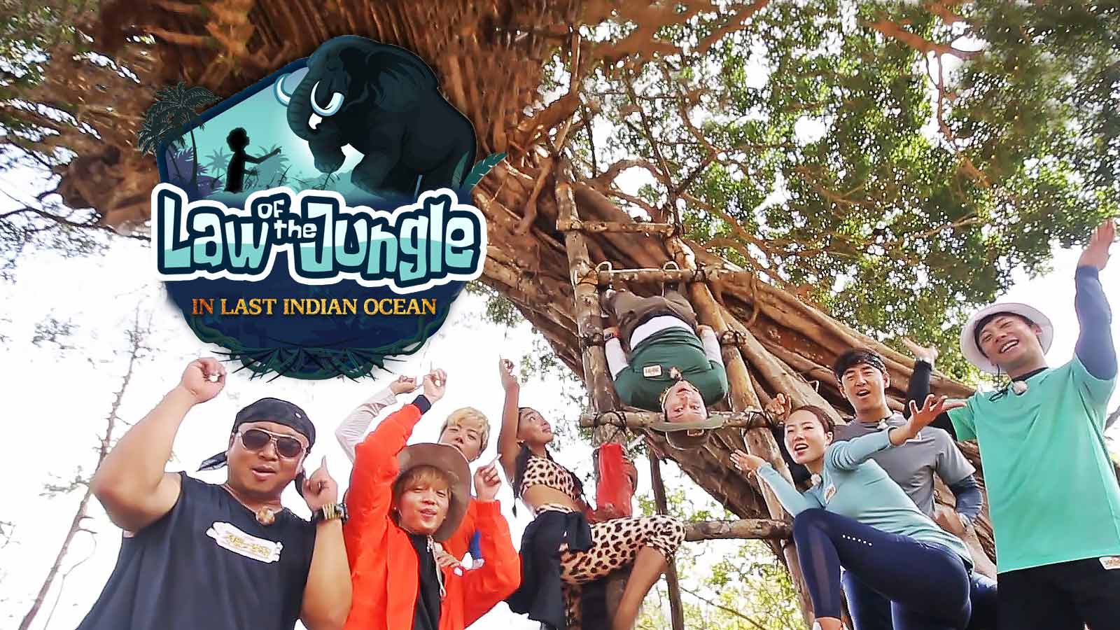 [Vietsub] Law of the Jungle Tập 343